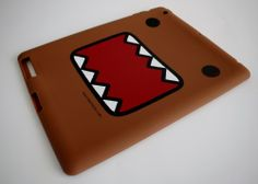 NEW Classic Domo-kun iPad 2 Silicone Tablet Case Cover Brown