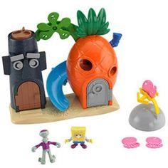 Fisher-Price Imaginext SpongeBob SquarePants Bikini Bottom Play Set