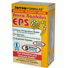 Jarrow Formulas, Jarrow-Dophilus EPS, 5 Billion Organisms Per Capsule, 60 Veggie Caps