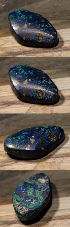 Malachite 10236: Azurite Chrysocolla Malachite Cabochon Cab Morenci Arizona -> BUY IT NOW ONLY: $30.0 on eBay!