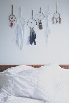 change of scenery: bedroom idea: dreamcatchers