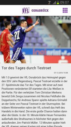 VfL Osnabrück App - News Detailansicht