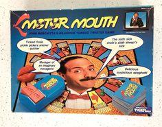 Tiger Motor Mouth Board Game Complete Vintage 1990  #TigerElectronics