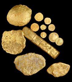 Sunken Treasure, gold stolen by Spaniards