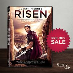 Experience the story of the resurrection through the eyes of a non-believer. Risen is available on DVD May 24. Buy today and save $11. #risen #sale