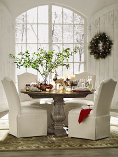 The perfect holiday setting starts with the right decor. #HomeDecorators #Holidays