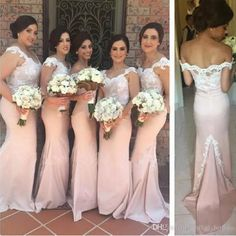 2017 Nude Bridesmaids Dresses Mermaid Trumpet Style Floor Length Cap Sleeve Maid Of Honor Gowns For Sale Vestidos Madrinha De Casamento Inexpensive Bridesmaids Dresses Jr Bridesmaids Dresses From Firstladybridals, $77.38| Dhgate.Com