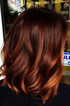The Most Popular Shades Of Dark Red Hair For Distinctive Looks - Cinnamon Hair . - The Most Popular Shades Of Dark Red Hair For Distinctive Looks – Cinnamon Hair Color - Hair Color Auburn, Red Hair Color, Brown Hair Colors, Cool Hair Color, Auburn Hair With Highlights, Red Color, Brownish Red Hair, Red Hair With Highlights, Shades Of Red Hair