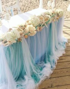 Sea wedding can be gentle and airy!]]] # ostrosablina_dekor # wedding in the bride Beach Wedding Centerpieces, Beach Wedding Reception, Beach Wedding Favors, Nautical Wedding, Wedding Reception Decorations, Wedding Themes, Wedding Bouquets, Wedding Flowers, Table Decorations