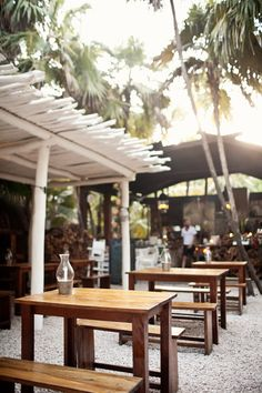Dining at Hartwood Restaurant in Tulum. - get the ribs!