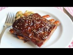 Root Beer Ribs Recipe - Spicy Ribs Glazed with Root Beer and Sesame Oil.... I would use Pork ribs