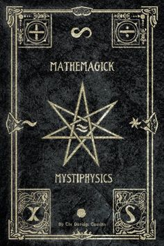 Because MatheMagick is funny Mystique, Vintage Book Covers, Vintage Books, Book Of Shadows, Wiccan, Witchcraft, Pagan, Dark Art, Tarot