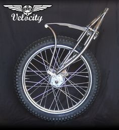Vintage Motorcycles Voodoo Vintage Fabrication announces it's release of a traditional designed leaf-spring front end - VELOCITY - Vintage Motorcycles, Custom Motorcycles, Custom Bikes, Cruiser Bicycle, Motorized Bicycle, Futuristic Motorcycle, Motorcycle Style, Motos Bobber, Jawa 350