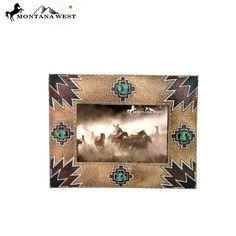 Aztec Resin Photo Frame