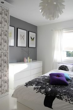 if I was more modern maybe.....love the gray and light fixture!