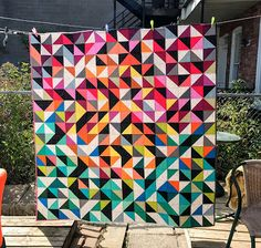 Izzy: It feels so good to share a quilt finish with you today! The last time I had an actual quilt to show off was in July, when I finished my bab...