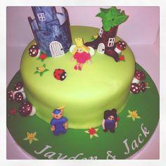 Ben & Holly's Little Kingdom Birthday Cake