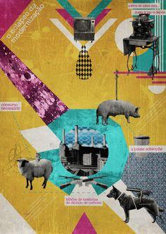 Diego Xavier. Capitalism - Poster Serie