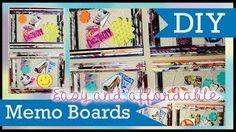 DIY Memo Bulletin Boards