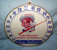 Rexall Vintage Clock Old 1940 Drug Pharmacy Store