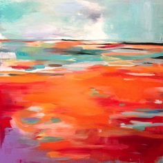 Abstract painting - Sian Hardie