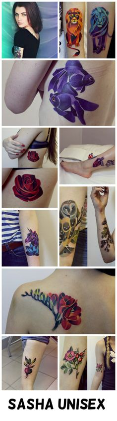 a Sasha Unisex tattoo is my goal now. This will spur me into going back to Russia like I have planned to do since I found out I was adopted Pretty Tattoos, Love Tattoos, Tattoo You, Beautiful Tattoos, Body Art Tattoos, New Tattoos, Tatoos, Fish Tattoos, Piercings