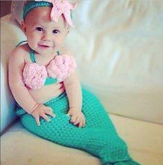 halloween costume idea - Baby Mermaid Halloween Costume