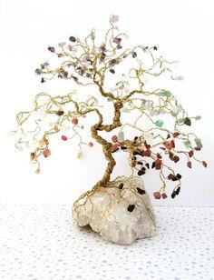 Customize your own #Chakra #Bonsai Gem Tree! http://etsy.me/2CjkJWU