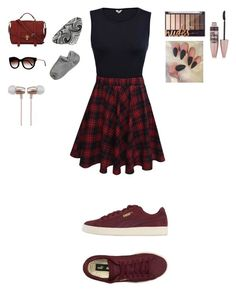 """""""Untitled #19"""" by katieescreations on Polyvore featuring Puma, Maybelline, Thomas Sabo, Thierry Lasry and Cynthia Rowley"""