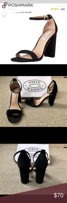 79aeb4242e2 Steve Madden Dress Sandals (High Heels) - Size 9 Worn Once - Great Condition