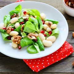 Chickpea Pecan Salad