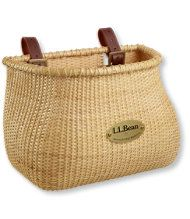 LL Bean bicycle basket : To use as a mailbox on front porch