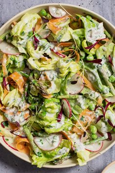 Vegetarian Meals, Healthy Meals, Healthy Recipes, Cooper Kitchen, Buttermilk Dressing, Clean Eating Salads, Skinny Ms, Pasta Salad Recipes, Salad Ingredients
