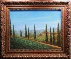 "Oil on Canvas, 14"" x 11"""