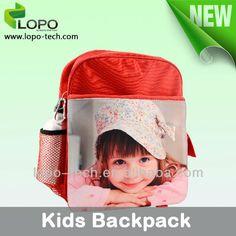 Blank Sublimation bag, kids backpack