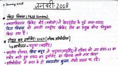 Current Affairs February 2018 in Hindi PDF Download   Hello Friends, Today we are sharing Current Affairs February 2018 in Hindi. This...