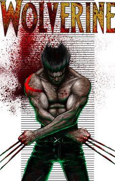 Wolverine by hayr.deviantart.com