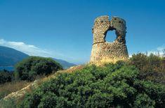 Tour génoise en Corse.