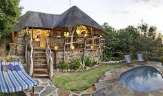 Romance at Africas heart: A hideaway for two with safari charm Safari, Africa, Romance, Charmed, Cabin, House Styles, Heart, Places, Blog