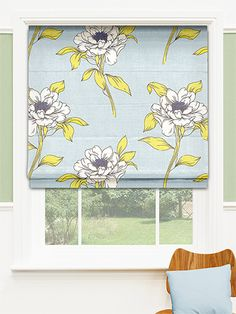 Amsara Blissful Blue Roman Blind from Blinds 2go Blue Roman Blinds, Roman Shades, Sycamore House, Kitchen Ideas, Curtains, Home Decor, Blinds, Decoration Home, Room Decor