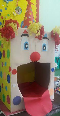 Profª: Ivani Ferreira: Comemoração semana da criança- Tema Palhaço Carnival Birthday Parties, Circus Birthday, Circus Party, Birthday Party Themes, Circus Theme Classroom, Classroom Crafts, Carnival Decorations, Diy Halloween Decorations, Kids Crafts