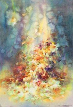 Yuko Nagayama 永 山 裕子 1963 ~ Sembolik Suluboya ressamı | Tutt'Art @ | Pittura * Scultura * Poesia * Musica |