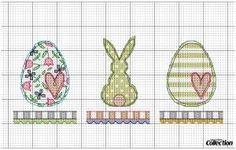 Lapin de Pâques - Easter Bunny - Pasqua (grille gratuite)