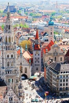 Munich, Germany this is gonna be our best trip ever!