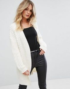 Supertrash Caymon Open Cable Knit Cardigan