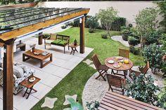Quintal de apartamento: flores, horta e frutíferas na cobertura - Casa