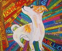 """""""Dog"""" by Laura, Great Oak High School, #Art4Literacy"""