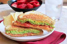 Bacon Avocado Grilled Cheese with @Dinnersdishesdessert