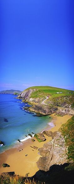Coumeenoole Beach, Dingle Peninsula, Co Kerry, Ireland. I have a picture in my entry way of me and the girls there.