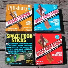 Space Food Sticks!  The food of astronauts -- and kids in the late 1960's/early 1970's.